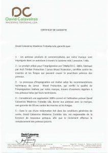 garantie 20 ans FRANCE